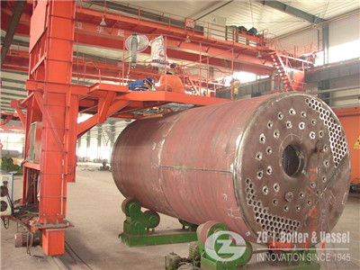 65 TON/h heat recovery boiler
