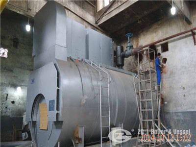 2 t/h sawdust fired steam boiler