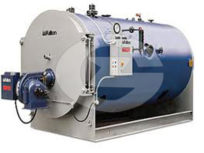 wood pellets steam boiler